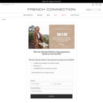 Win an Accommodation, Dinner & Wardrobe Package Worth Over $2,000 from French Connection