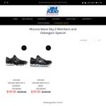 Mizuno Wave Sky 2 $119.95 (50% off RRP) + $15 Shipping / Free Click & Collect (WA) @ Jim Kidd Sports