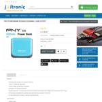 PNY Power Bank 52S Blue 5200MAH 2 USB Output $21.45 + Shipping @ Joltronic