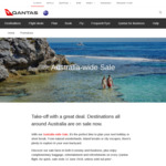 Sydney to Adelaide $129, Melbourne to Hamilton Island $139, Perth to Sydney $199 One Way + More (All of Australia) on Qantas