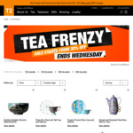 Tea Frenzy Sale - Selected Gift Cubes from $5 + Free Shipping @ T2