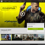 [Pre-Order] Cyberpunk 2077 + Exclusive Bonuses (Digital Booklet, Print Quality Posters, 30% off Merch Store & More) $89.95 @ GOG