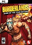 [PC, Steam] Borderlands Game of the Year Enhanced PC $14.89 @ CD Keys