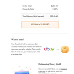 Earn between 0.1% to 1% Cashback (Honey Credits) on eBay Australia Purchases via Honey Browser Extension