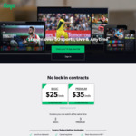 Free 3-Month Kayo Basic Sports Subscription (Or Premium $10 Per Mth) for Inactive or New Kayo Members via BetEasy