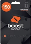 Boost Prepaid - 12 Months | 80GB Data | Unlimited Talk/Text $140 (Was $150) @ Big W (in Store Only)