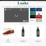 Loakes Shoes 12% off Full Priced items: Leather Shoes from $159 + Shipping (Free Shipping over $200)
