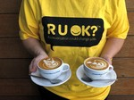 [QLD, VIC] 2 for 1 on All Hot Drinks on RU OK? Day (12 September) 2-4pm (QLD), 12-2pm (VIC) @ Merlo