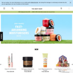 20% off Online Orders + Free Shipping for Orders over $99 @ The Body Shop