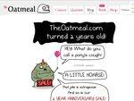 OATMEAL Internet Comics Posters, 50% off