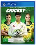 [PS4, XB1, Switch] Buy Cricket 19 for $79, Get Big Bash Boom, Pickup/+ Delivery @ JB Hi-Fi