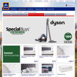 Dyson Big Ball Extra Vacuum or V7 Motorhead Origin Cordless Vacuum $399 Each @ ALDI