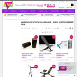 [NSW] Up to 50% off Brand New and Demo Stock Fitness Equipment @ Fitbiz Exercise Equipment (Rydalmere)