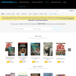 Creation Ministries 25% off Online (Excludes Items on Sale, Magazines, Journals, Packs)