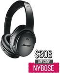 Bose QuietComfort 35 II Wireless Headphones - Black $308 Delivered + $5 Donation Per Sale @ Wireless1