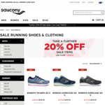 20% off Sale Running Shoes & Clothing @ Saucony Online