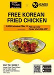 [ACT] $0.01 Korean Fried Chicken via EASI App - Pick up Only, No Minimum Spending Requirement @ My Mom's Yangpyeong, Dickson