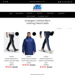 Save up to $90 on adidas Men's Clothing (Autumn-Winter Staples) + $9.95 Shipping ($0 C+C Perth) @ Jim Kidd Sports