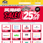 Up to 25% off Big Brands + Free Shipping Over $49 @ My Pet Warehouse