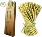 Grass Straws - Organic Home Compostable, Reusable/Disposable (20cm) $9.99 + Delivery ($0 with Prime/ $39 Spend) @ Amazon AU