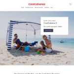 20% off Sitewide @ CoolCabanas Australia (Free shipping to metro)