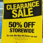 [VIC] 50% off Storewide @ Priceline - 235 Bourke Street, Melbourne [In-store Only]