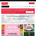 Free Shipping @ Dymocks