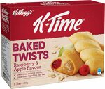 K-Time Baked Twists, Raspberry and Apple, 185 Grams | $2.00 or $1.80 (S&S) + Delivery ($0 with Prime/$39 Spend) @ Amazon AU