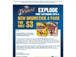 New Drumstick 4pk for $3