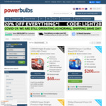 25% off Sitewide: Genuine European Headlight Bulbs / Globes + 3 Day Shipping at Power Bulbs