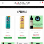 Sonder Sparkling White & Sparkling Rosé at $50/24pk Delivered @ Skye Cellars