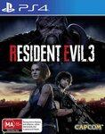 [PS4] Resident Evil 3 $49 Delivered @ Amazon AU