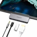 CHOETECH 4 in 1 Type C to 4k 60Hz Hub with USB-C PD, USB 2.0, 3.5mm $0 + Delivery ($0 with Prime) @ Choetech Amazon AU