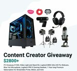 Win a Content Creator set-up worth USD $2800 from Streamlabs