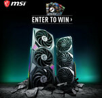 Win 1 of 2 MSI RTX 3080 GPUs or 1 of 80 Steam Cards from MSI