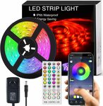 40% off APP Controlled LED Strip Lights $21.41 + Post (Free $39+/Prime) @ Findyouled Amazon