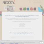 Free Sample of Nescafe Farmers Origins @ Nescafe