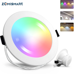 Zemismart 6 Inch Zigbee 3.0 RGBCW Downlight (Voice Assistant Supported) US$31.32/ A$40.6 Shipped @ ZemiSmart