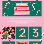 Win 1 of 12 Prizes from Sony Music's 12 Days of Christmas Giveaway