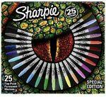 Sharpie Lizard Eye Permanent Marker 25 Pack $9 @ Officeworks
