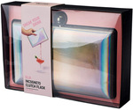 Blush VIP Iridescent Incognito Clutch Flask $40 (Was $89.95) + $7.95 Delivery ($0 in-Store/ C&C/ $49 Spend) @ Myer