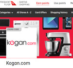 Earn Up to 2.5 Qantas Points Per $1 Spent at Kogan When You Link Your FF Account & Use Qantas Shopping