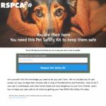 [VIC] Free Pet Safety Kit Delivered @ RSPCA