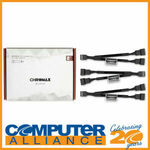 [eBay Plus] Noctua NA-SYC1 Chromax Black 4 Pin PWM Fan Power Splitter Cables (3 Pack) for $5 Delivered @ Computer Alliance eBay