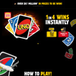 Instant Win Various Prizes (Suzuki Vitara, Baleno, Food Prizes) @ Hungry Jack's Uno (Buy Med or Lge Combo)