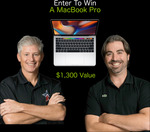 Win $1300 MacBook Pro Giveaway from OPM Guys