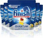 Finish Quantum Ultimate Dishwasher Tablets, Lemon, 50x5 Pack $71.25 ($0.29/Tablet) or S&S $64.13 ($0.26/Tablet)@ Amazon AU