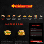 [WA] 20% off First Order for Online Pickup @ Chicken Treat via Mobi2go