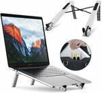 Portable Adjustable Laptop Desk Stand Black & White $9.99 (Was $18.99) + Delivery ($0 Prime/ $39 Spend) @ RioRand Amazon AU