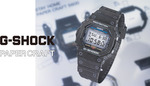 Free Paper Craft Model of G-Shock 5600 and 6900